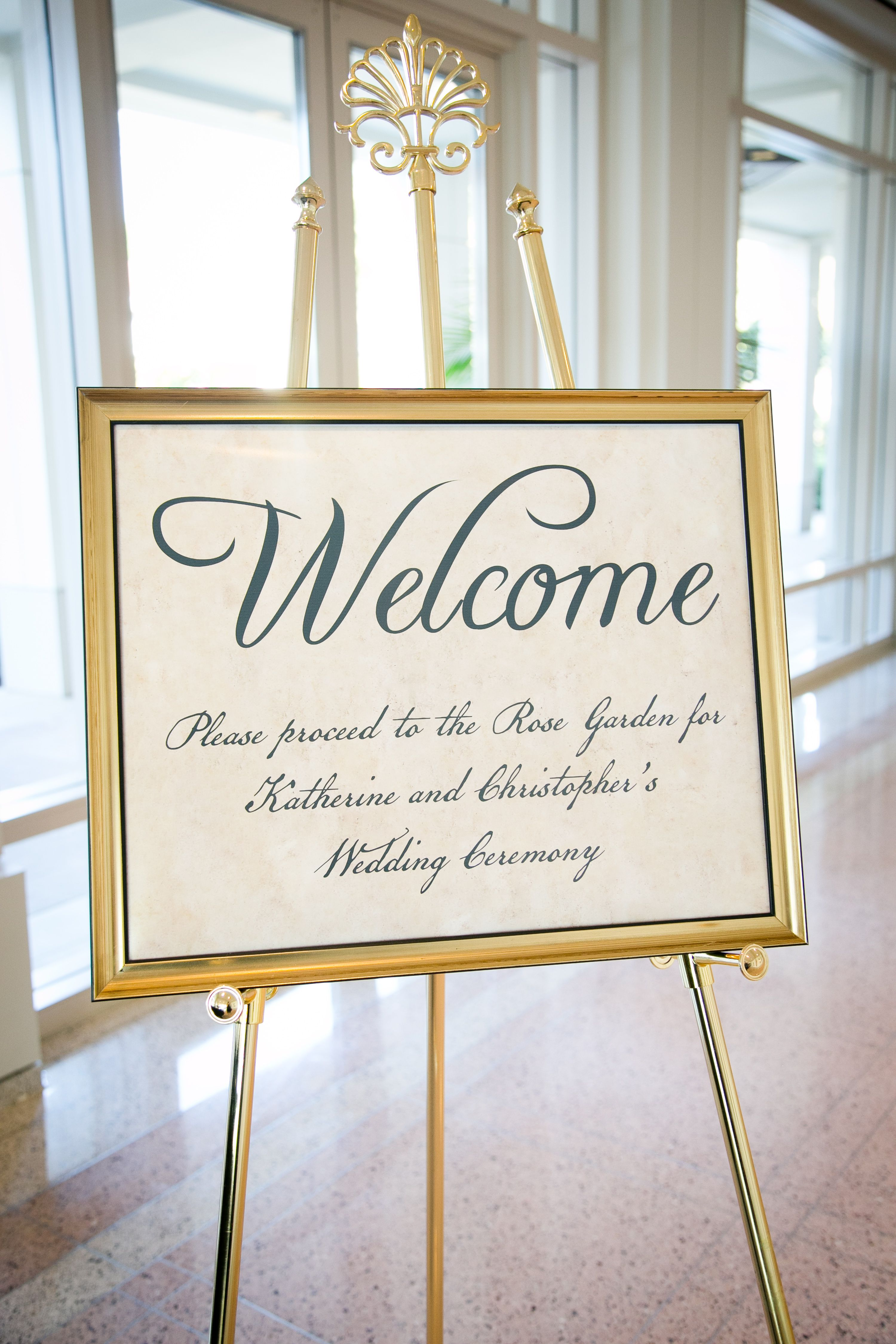 explore wedding welcome signs