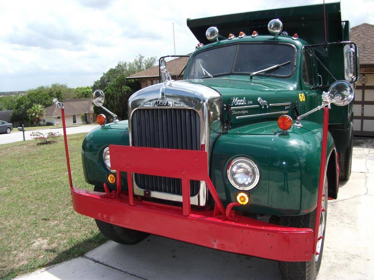 B61 Mack Truck For Sale >> Mack B61 dump truck | Old Time Trucking | Pinterest