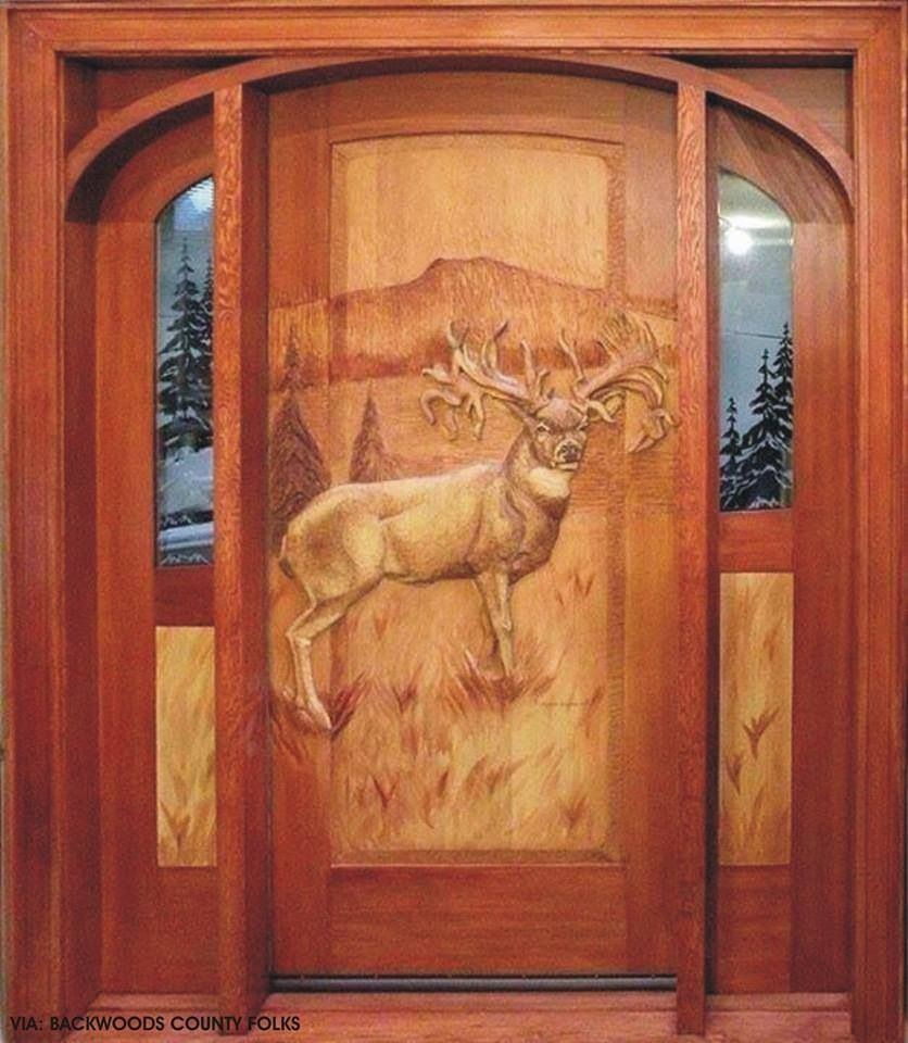 carved wood door arts and crafts pinterest