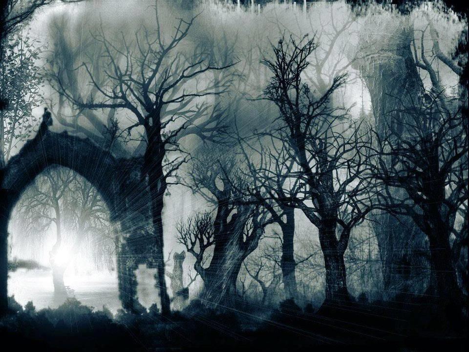 Halloween-Haunted Forest | Holiday-Halloween | Pinterest