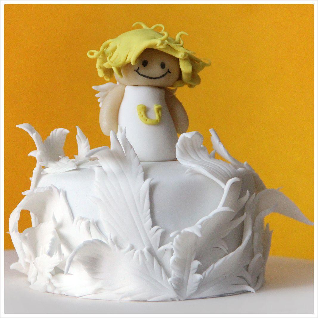 angel cake decorations