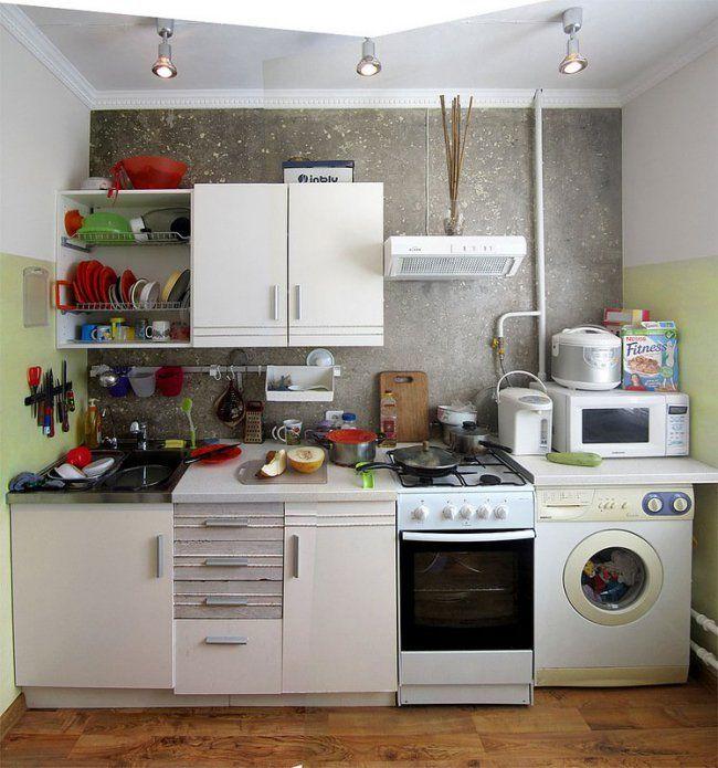 Ремонте маленькой кухни своими руками фото