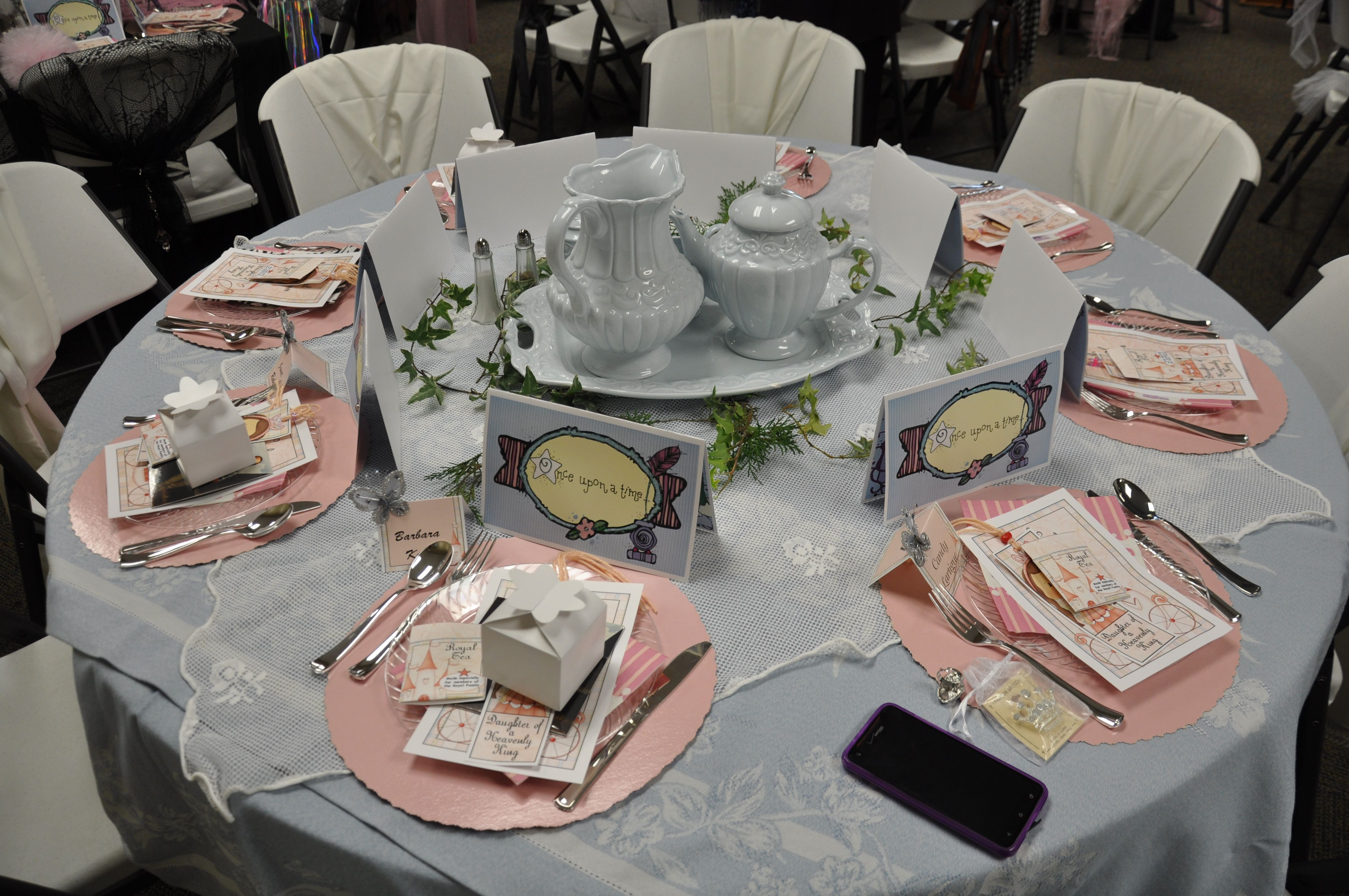 Royal Princess Breakfast | Table Decorations | Pinterest