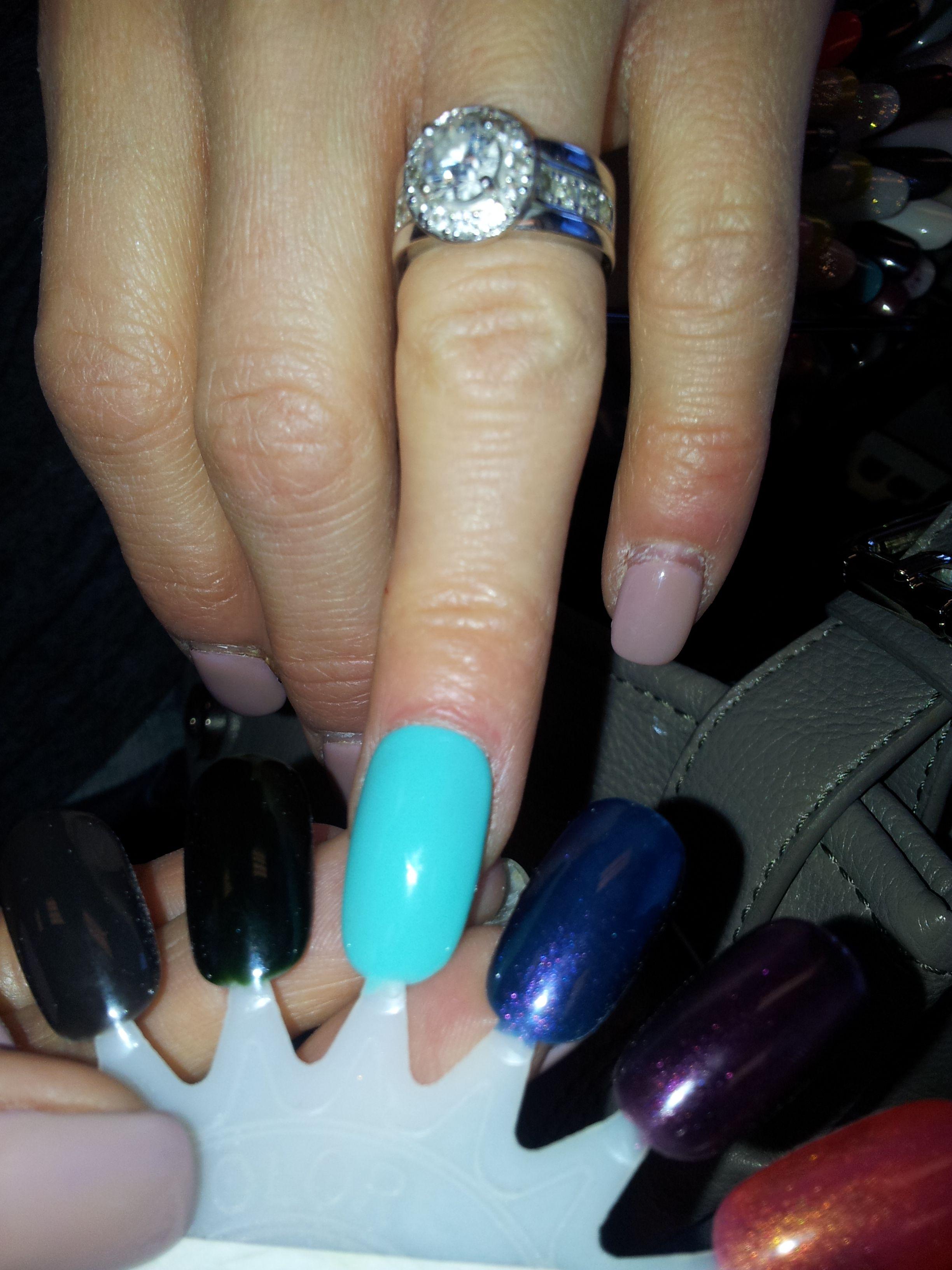 Moon River shellac color - my fav! -AB | Nails! | Pinterest