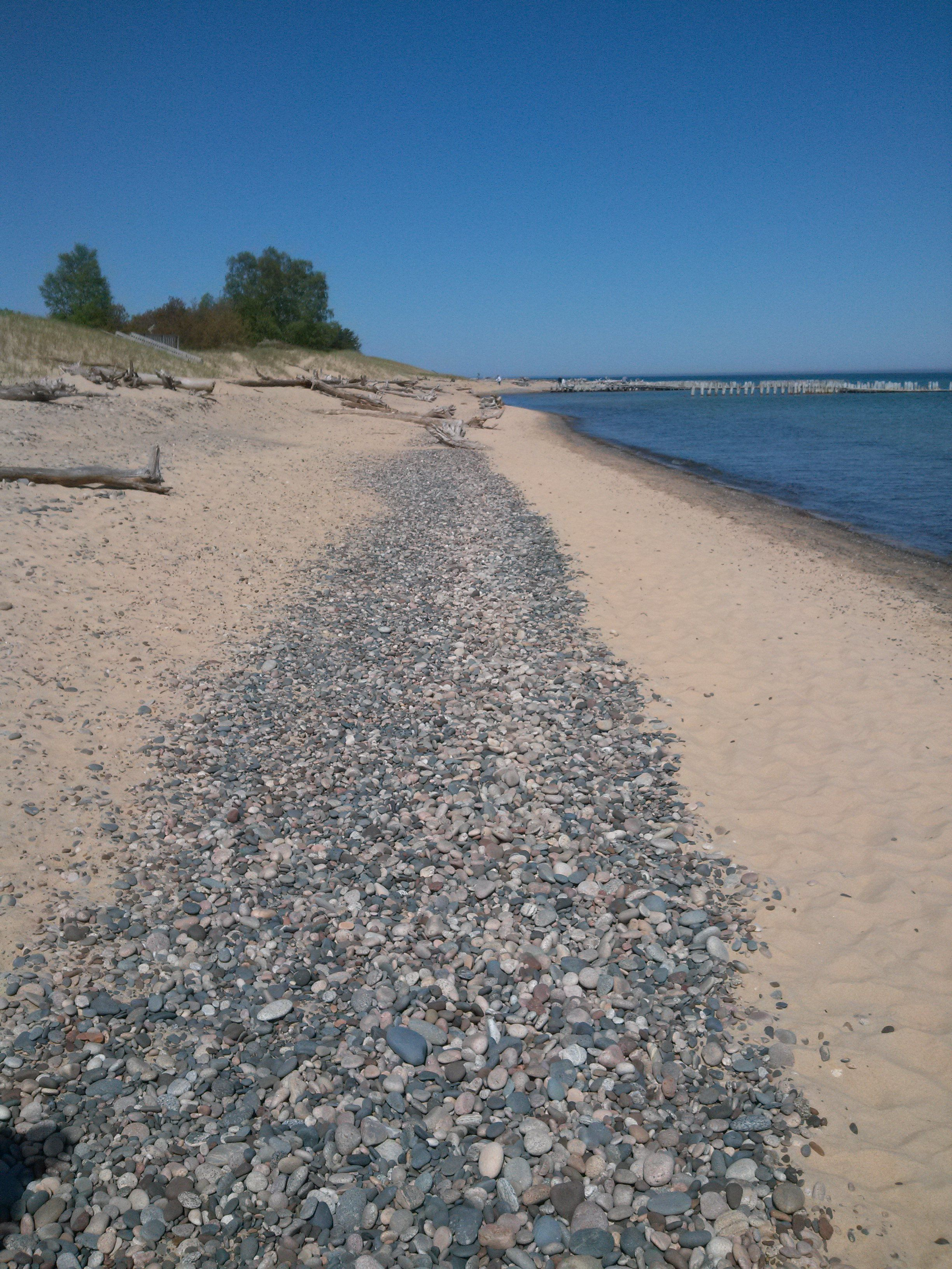 Whitefish point michigan on the beach michigan 2013 for White fish point