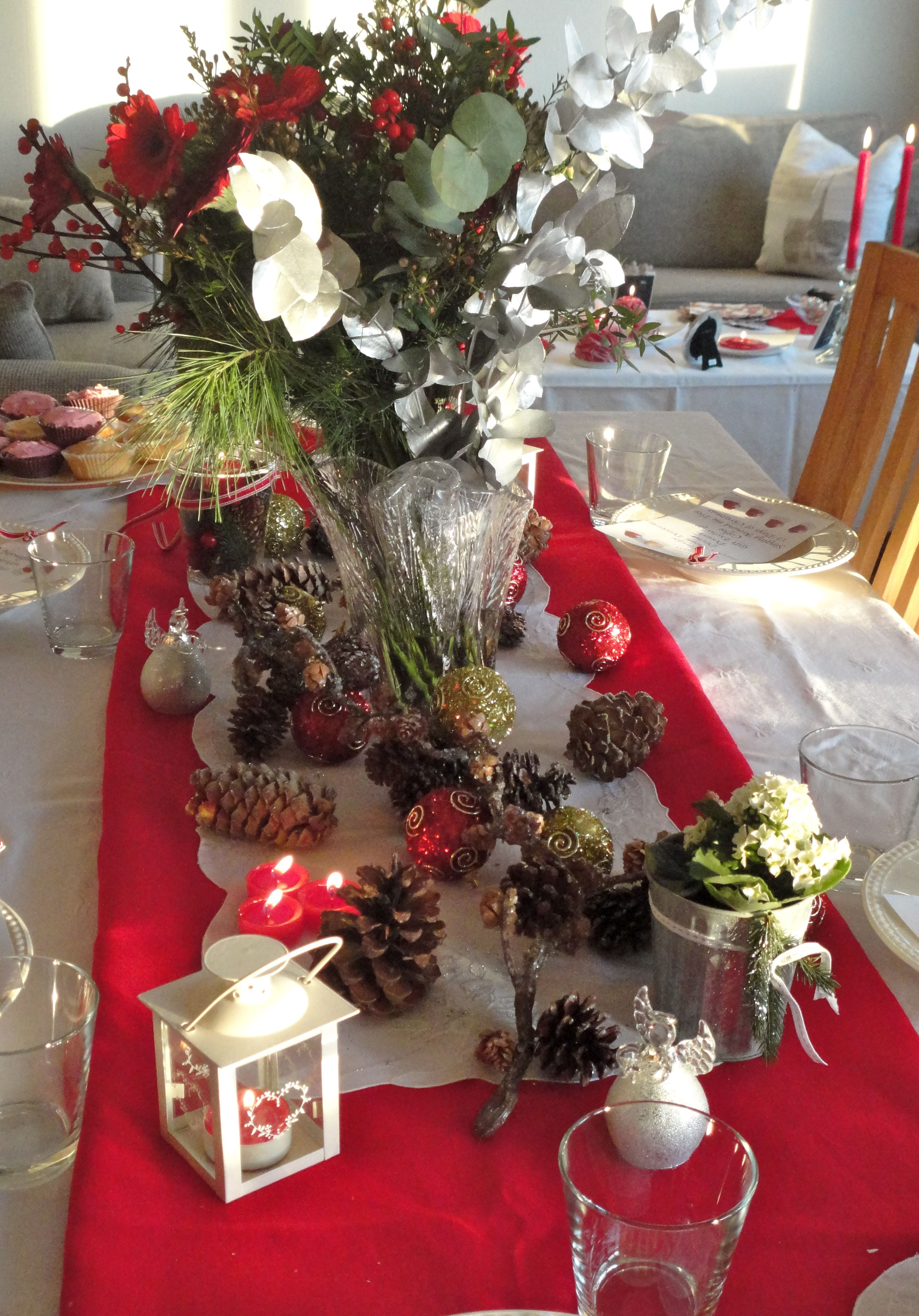 Christmas Tablescape Tablescapes For Christmas 2 Pinterest