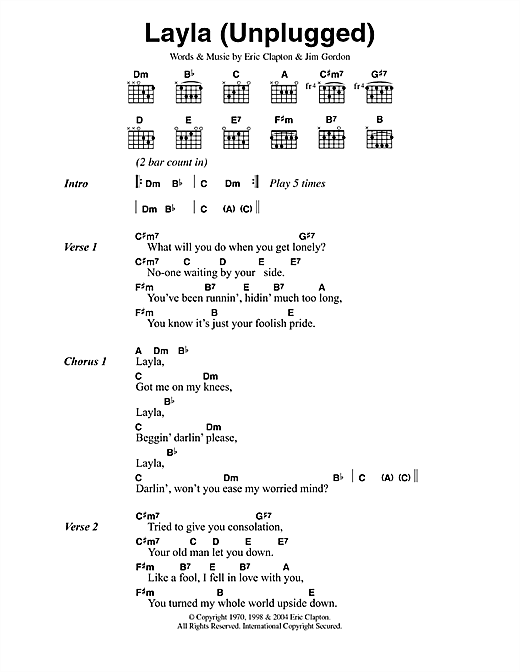 Magnificent Jack Johnson Upside Down Chords Frieze - Song Chords ...