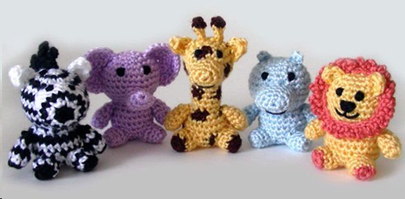 Crochet jungle animals Babies babies babies Pinterest