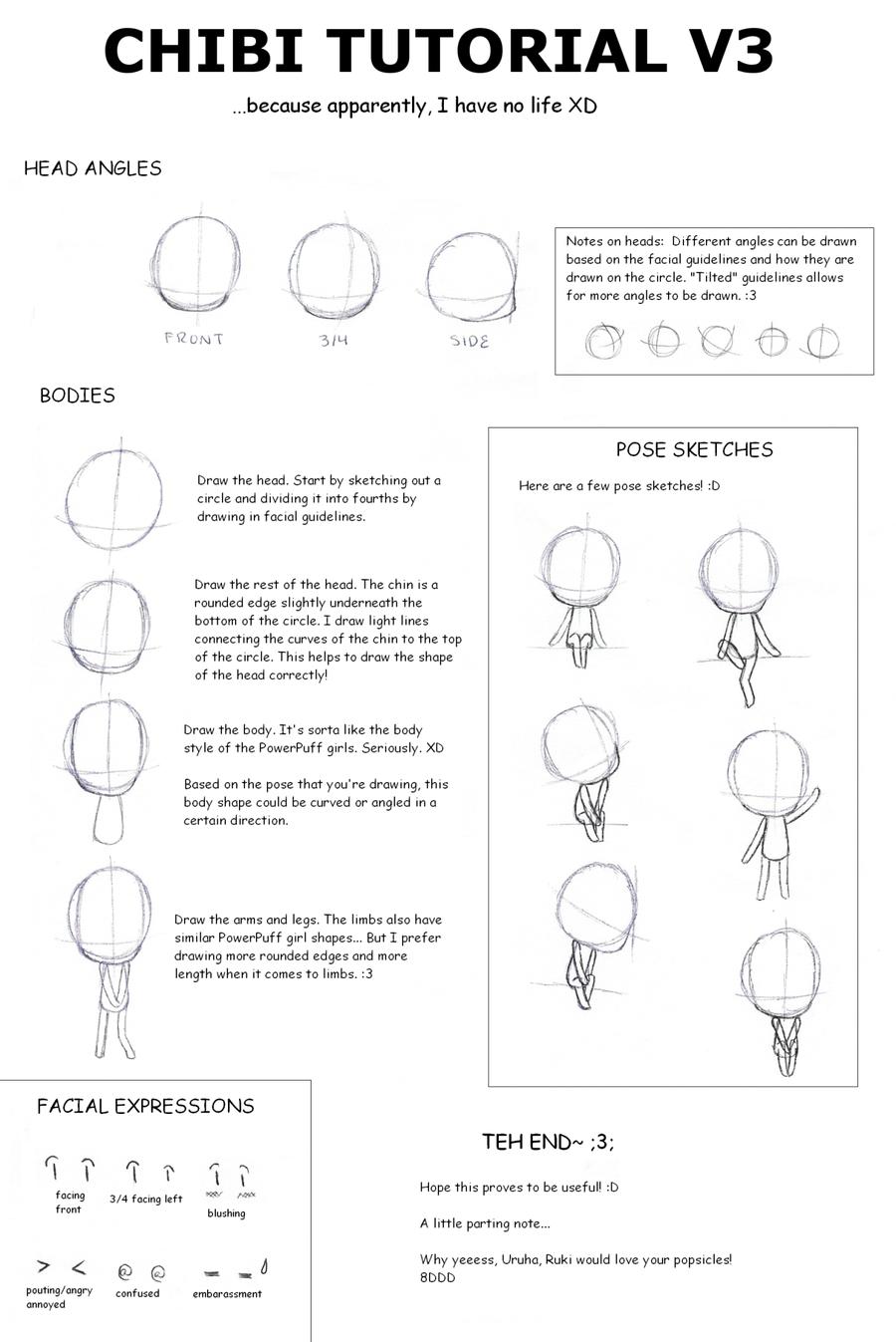 Top Guida Come disegnare un chibi passo per passo OQ82