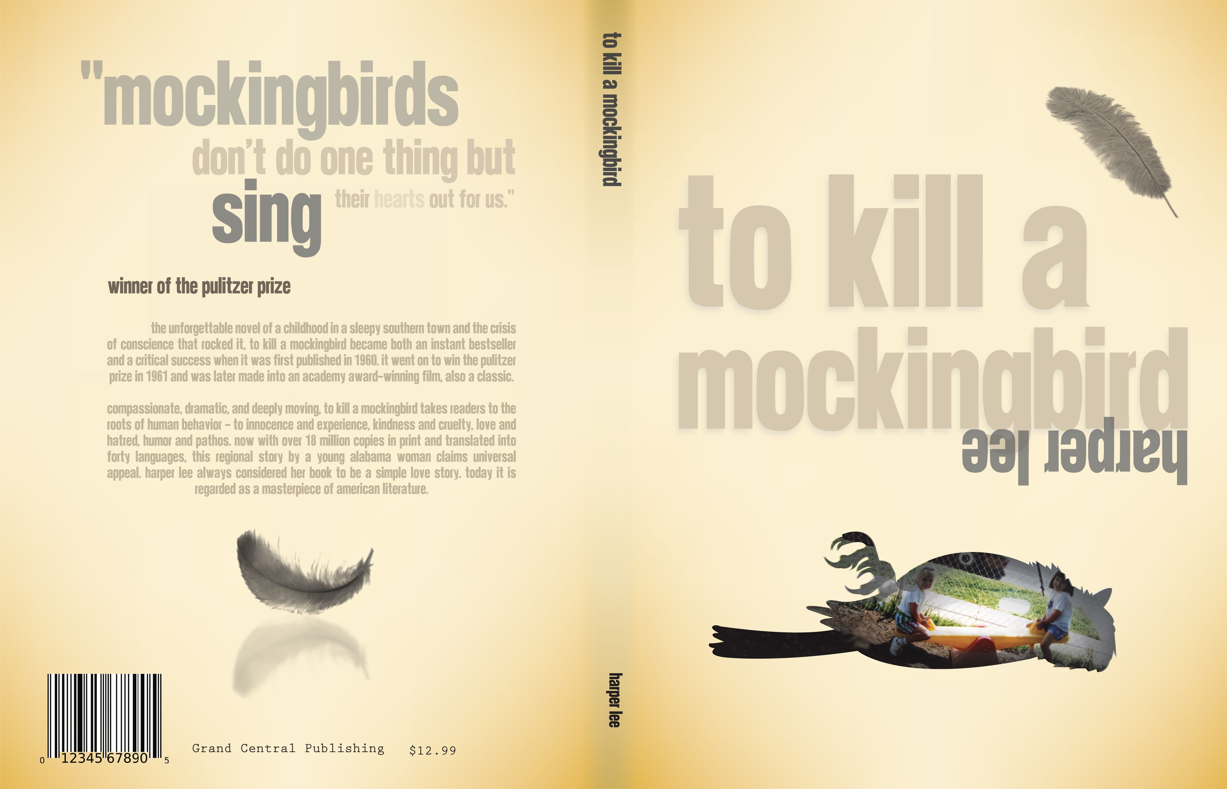 "the innocence of a mockingbird What does it mean ""to kill a mockingbird"" the 'mockingbird' comes to represent the idea of innocence thus, to kill a mockingbird is to destroy innocence."