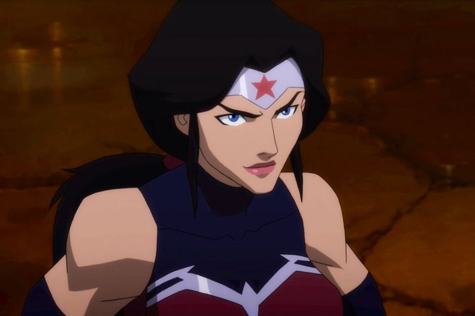Wonder Woman from 'Justice League: War' | Amazing Amazon ...