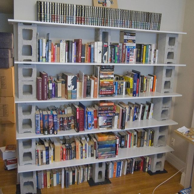 cinder block shelves tattoo ideas pinterest
