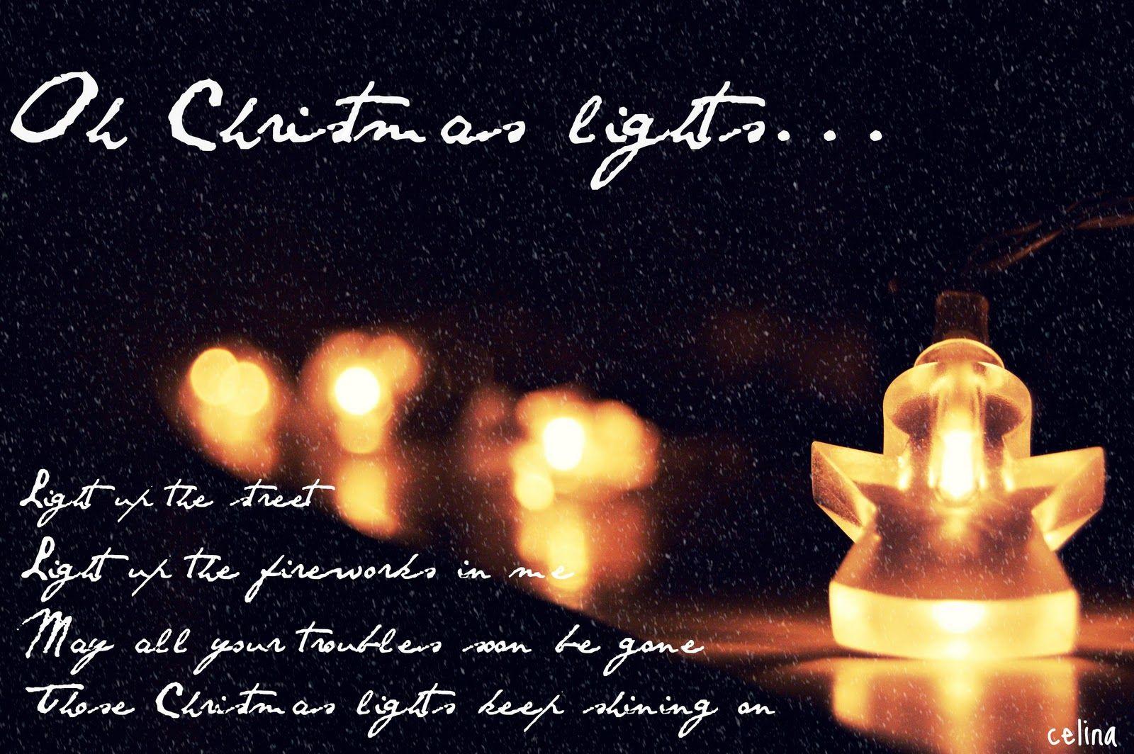 Christmas-Light Verse | Holiday-Christmas | Pinterest