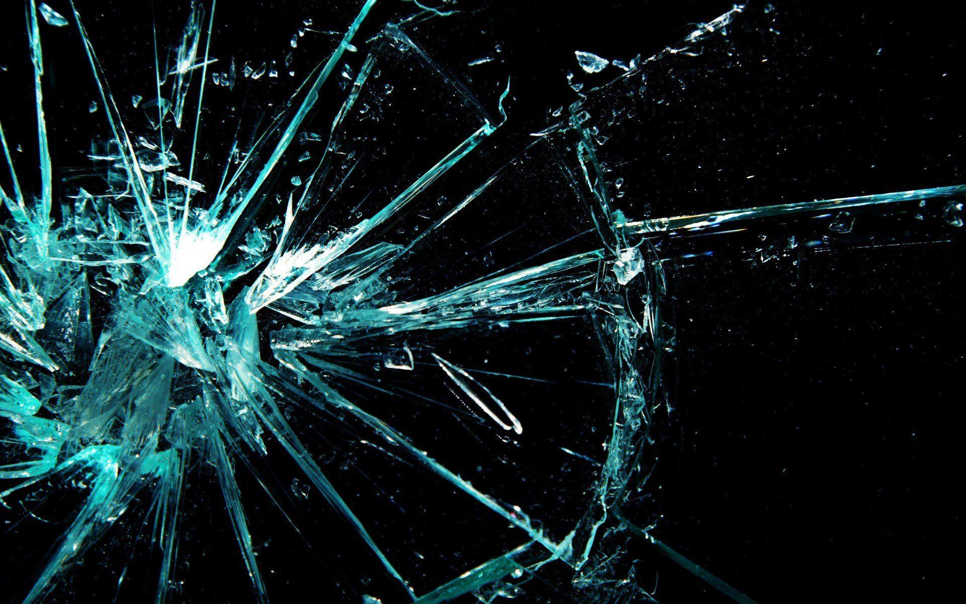 Как в фотошопе сделать эффект разбитого стекла