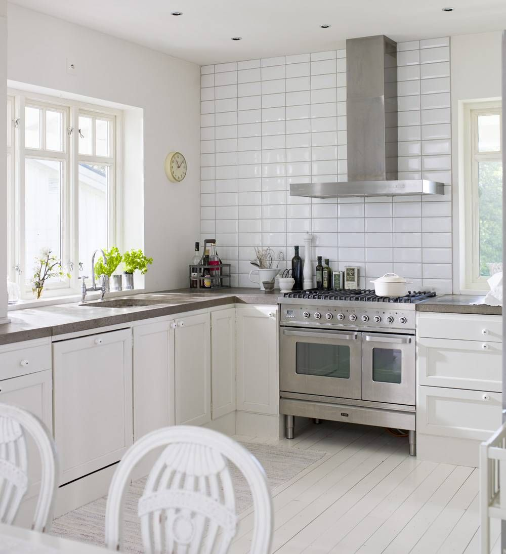 White Kitchen Home Pinterest