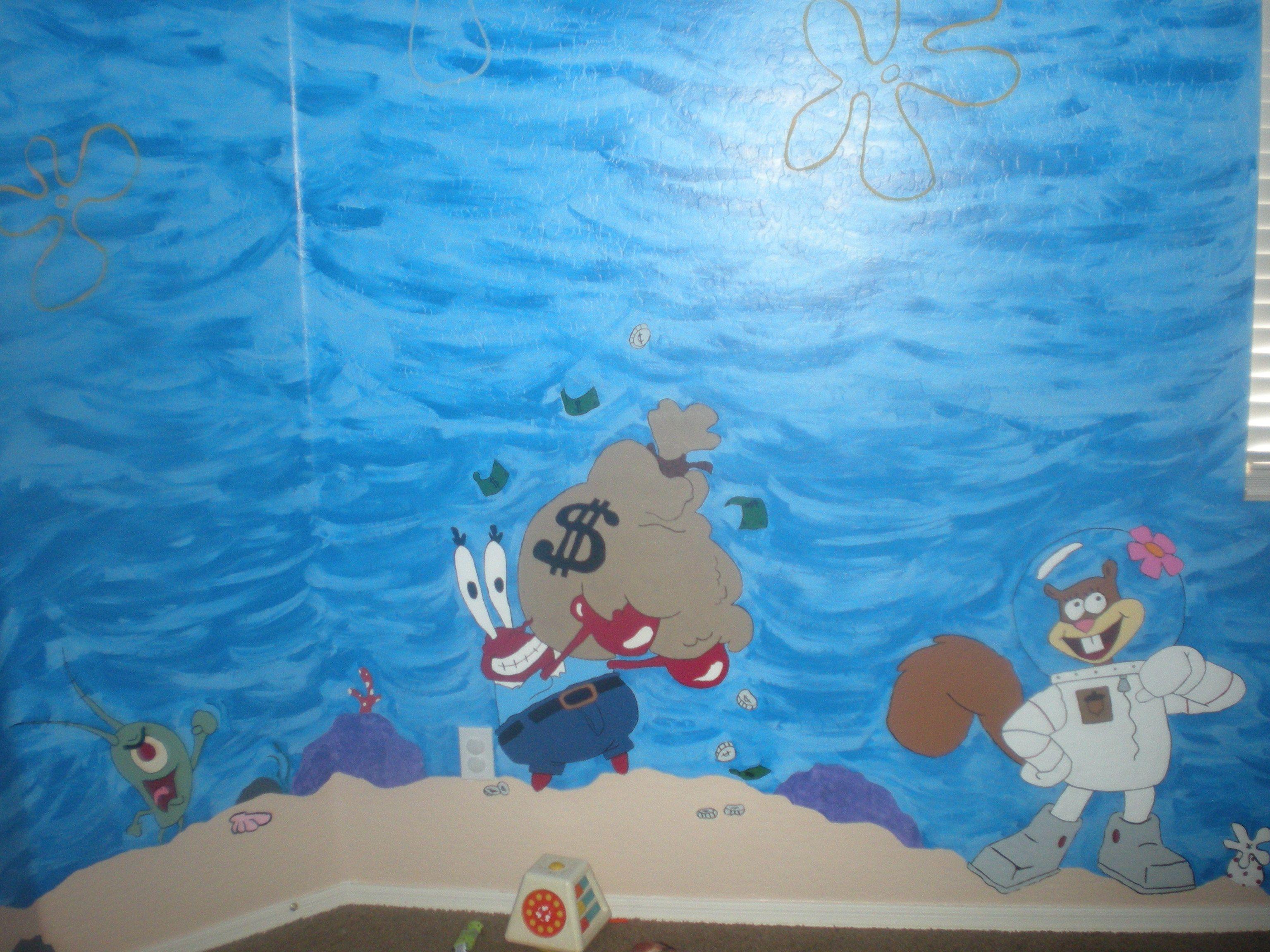 spongebob room  My creations  Pinterest