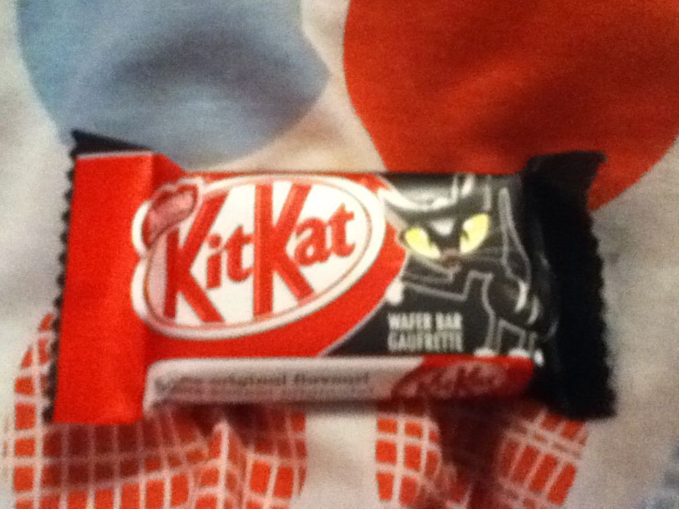 Kit Kat Halloween Commercial