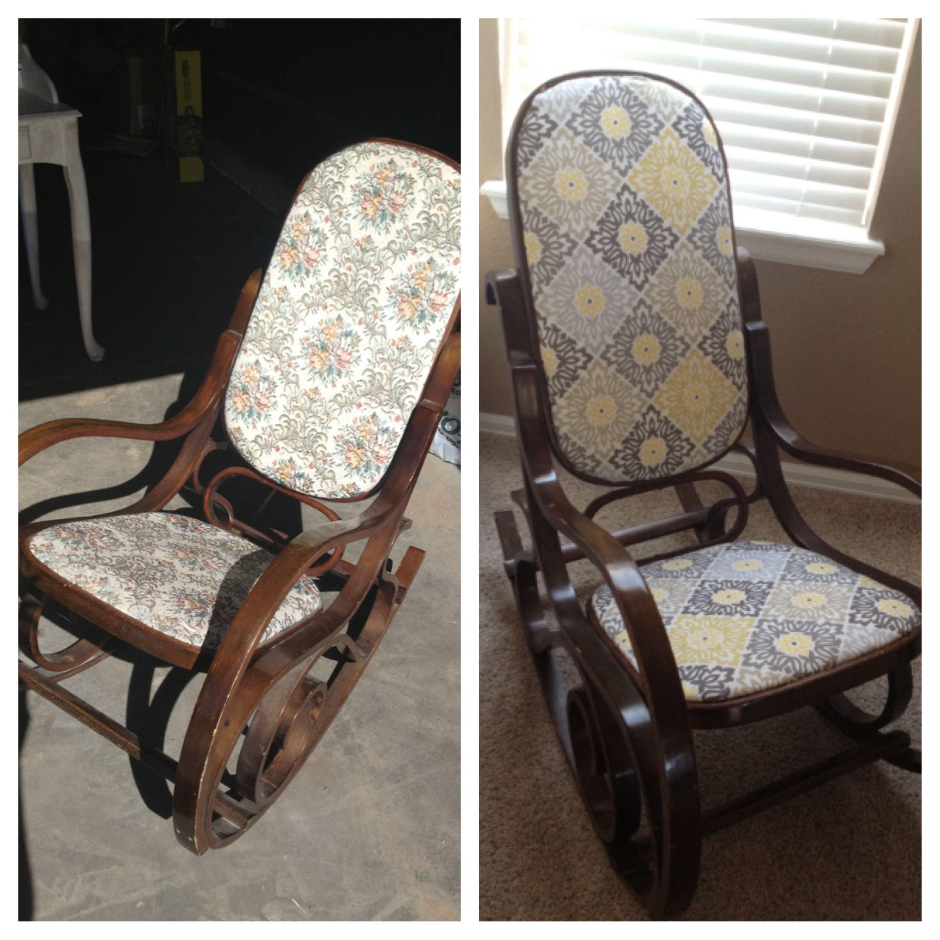 Reupholster Rocking Chair Ideas Home & Interior Design