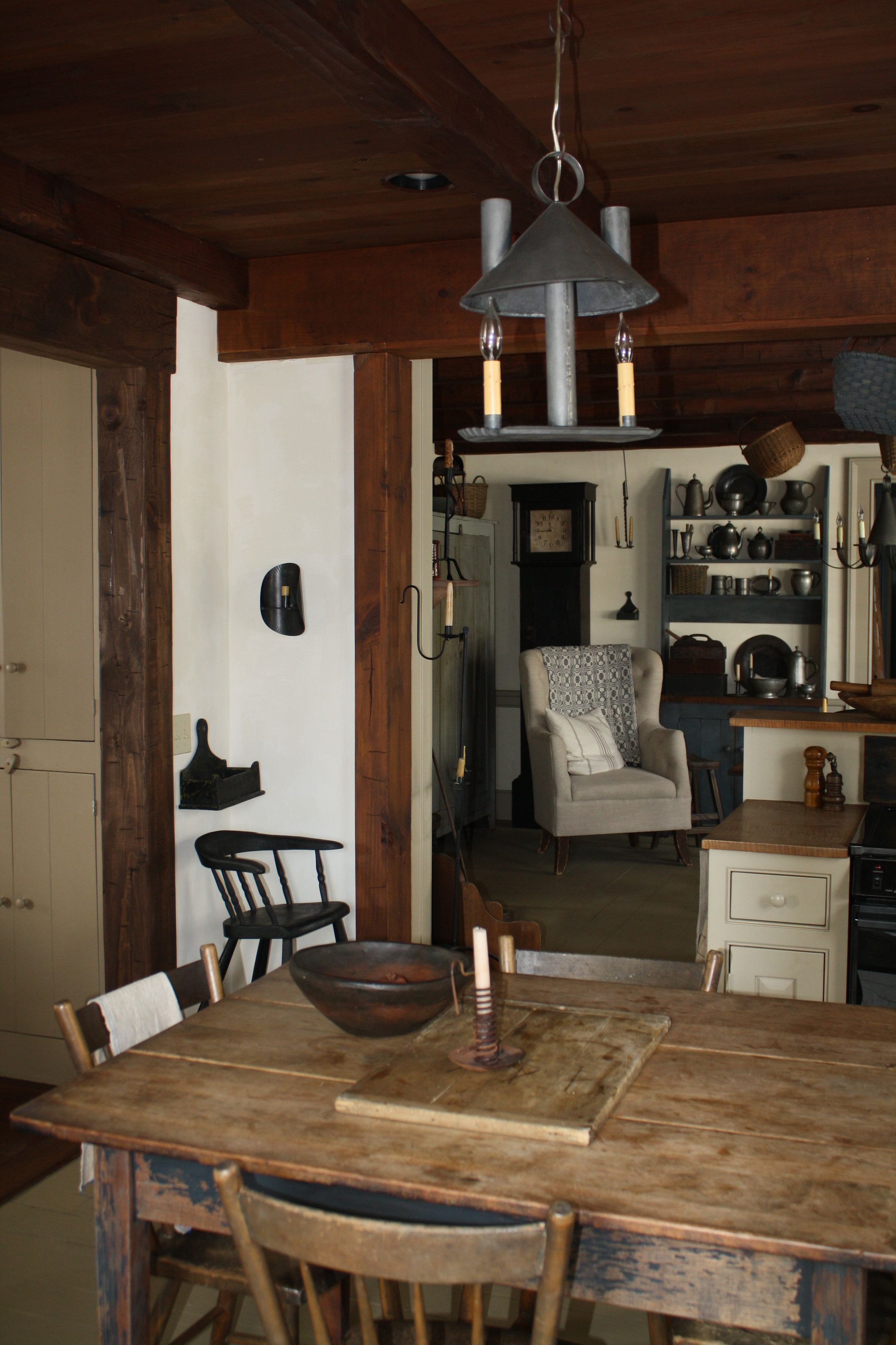 kitchen keeping room a home of my own pinterest. Black Bedroom Furniture Sets. Home Design Ideas