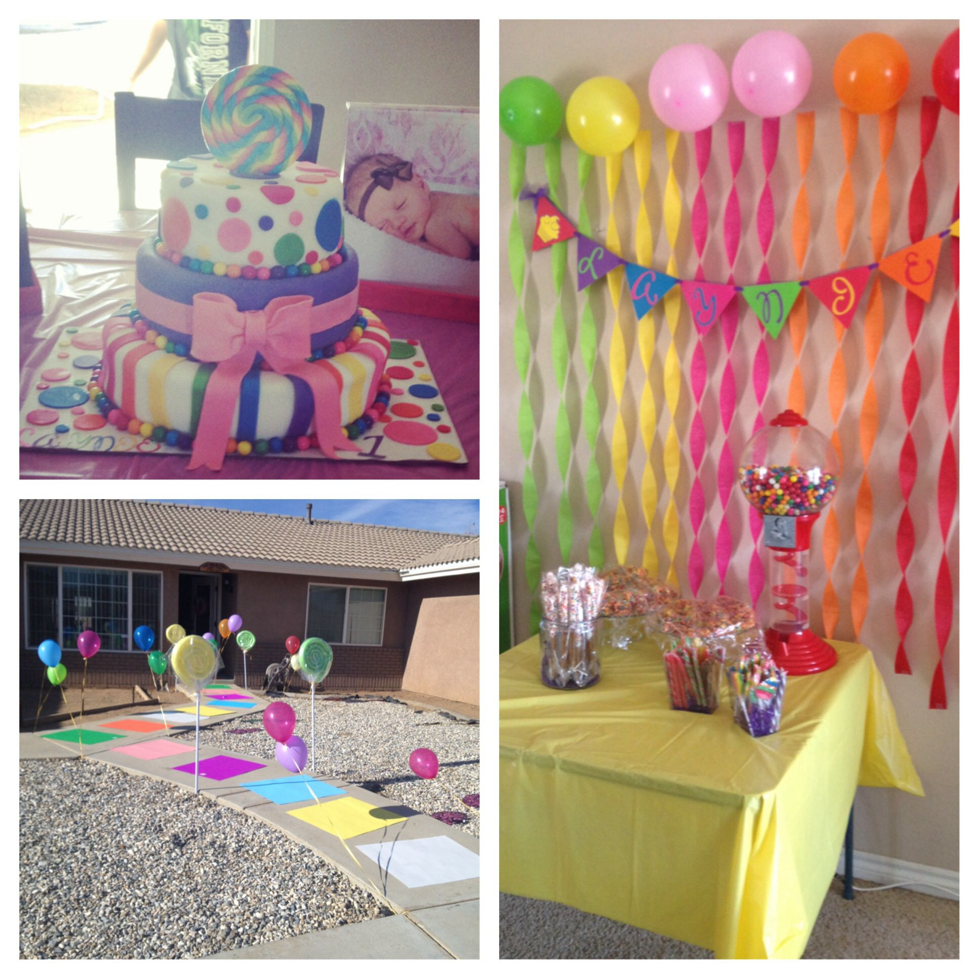 Candyland Birthday Party Party Ideas Pinterest