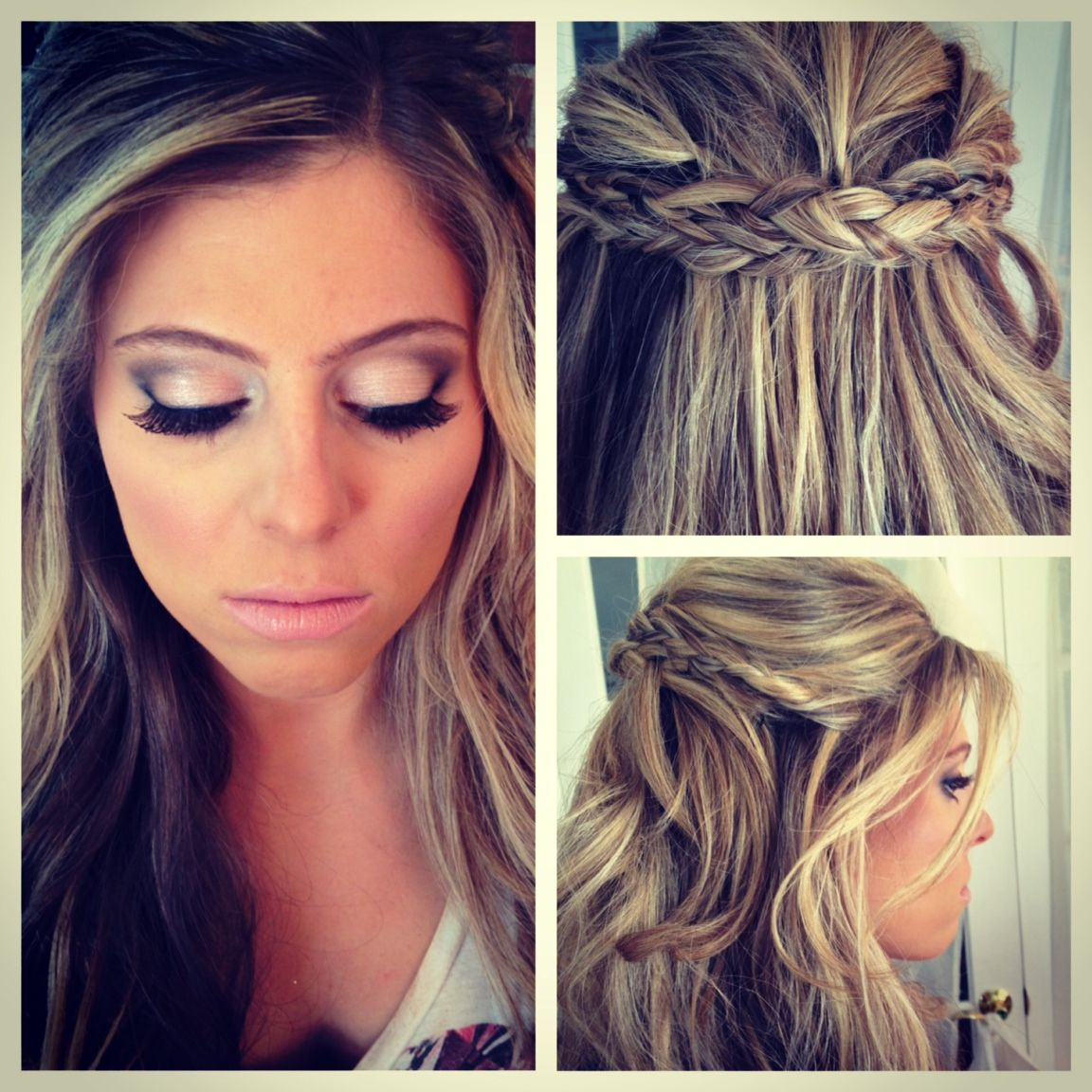 wedding day hair and makeup wedding 2014 pinterest