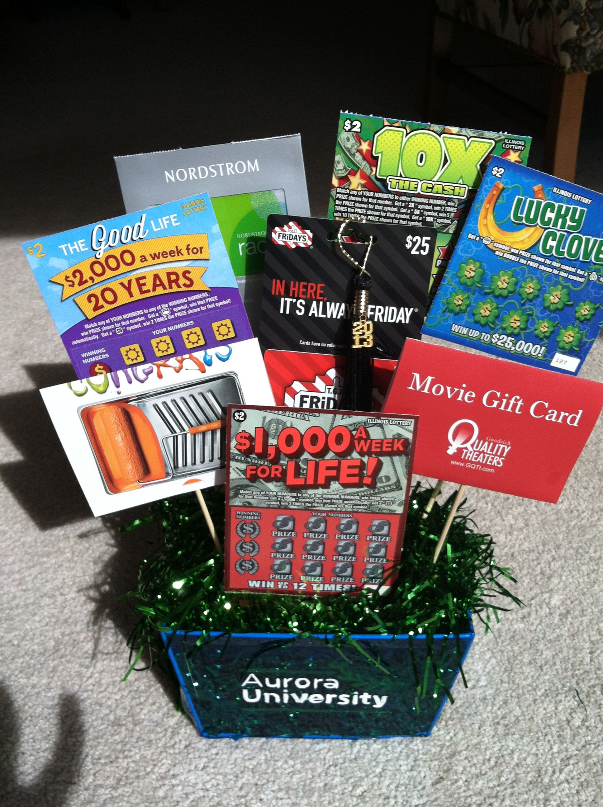 Creative Lottery Ticket Basket - Bing images