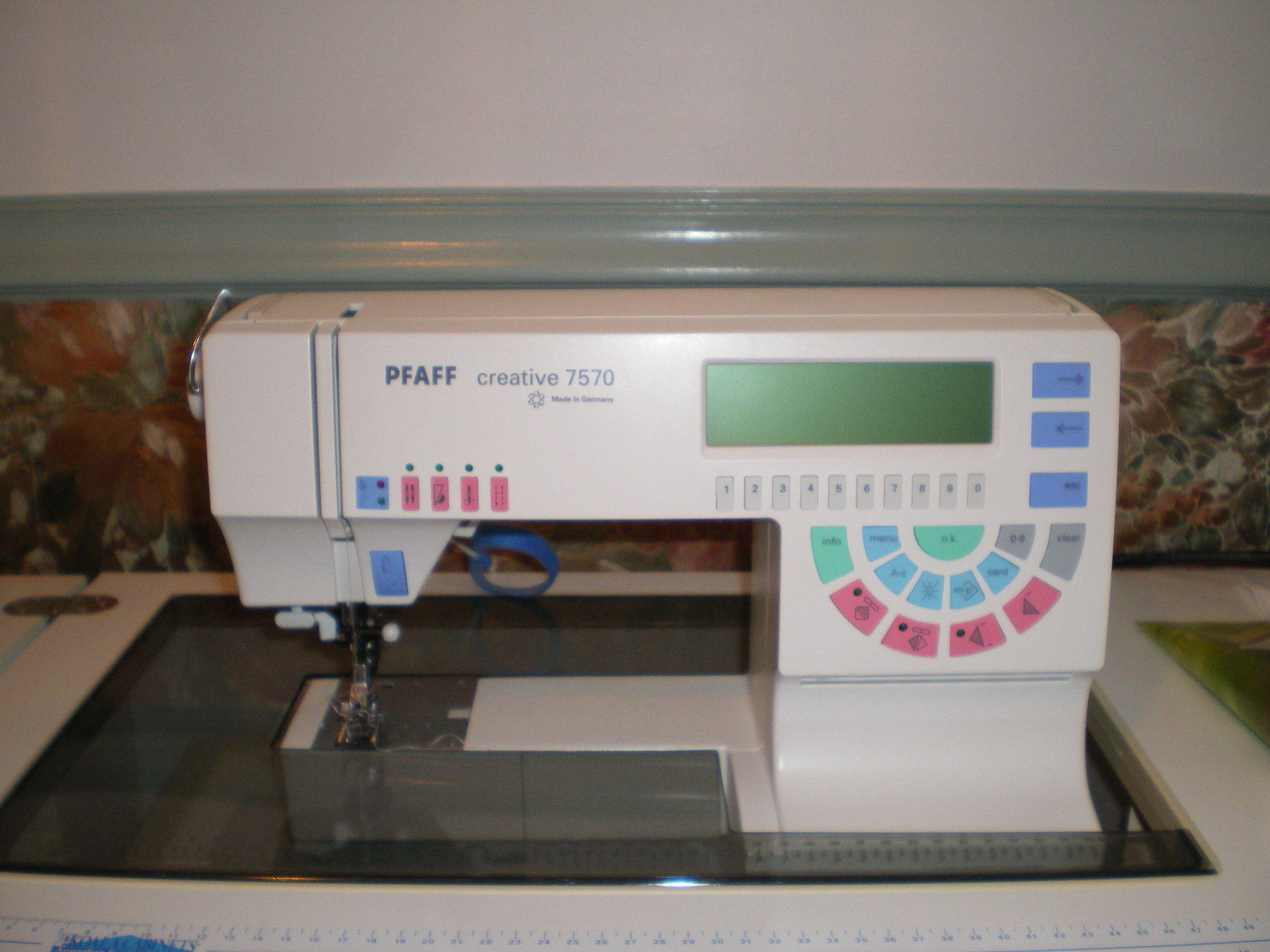 pfaff 7570 sewing machine