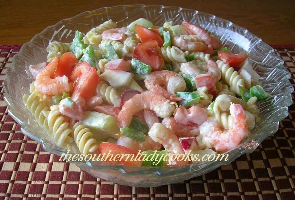 Shrimp Pasta Salad | Salads | Pinterest