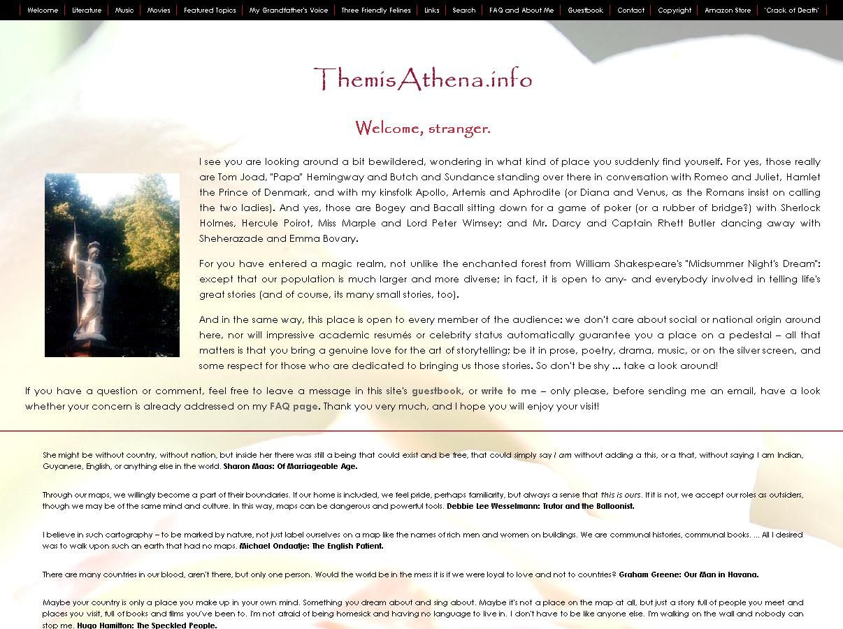 ThemisAthena.info Intro Page