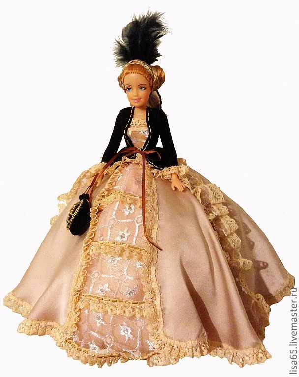 Куклы бальных платьях