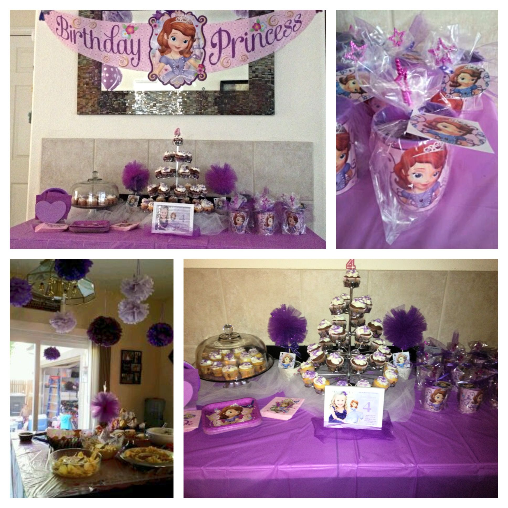 sofia the first party sofia 39 s 2nd birthday party ideas. Black Bedroom Furniture Sets. Home Design Ideas