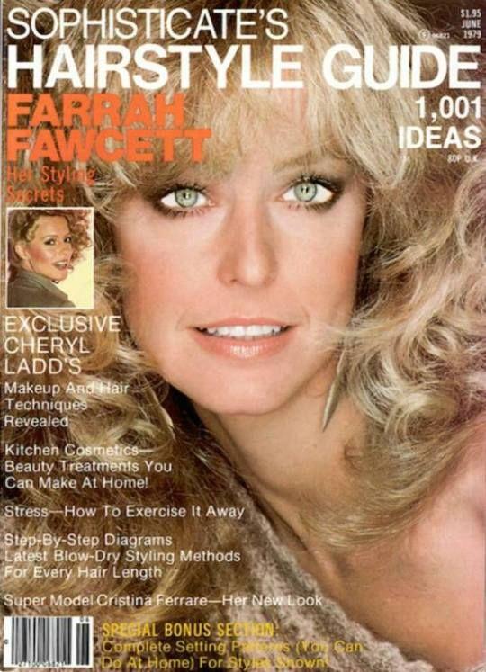 Farrah Fawcett Haircut Diagram Anexa Beauty