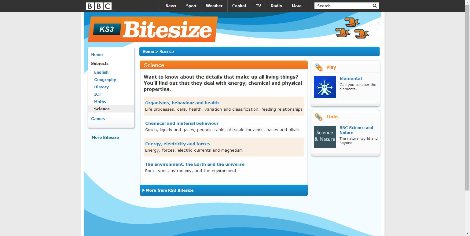 Bbc bitesize ks3 homework help