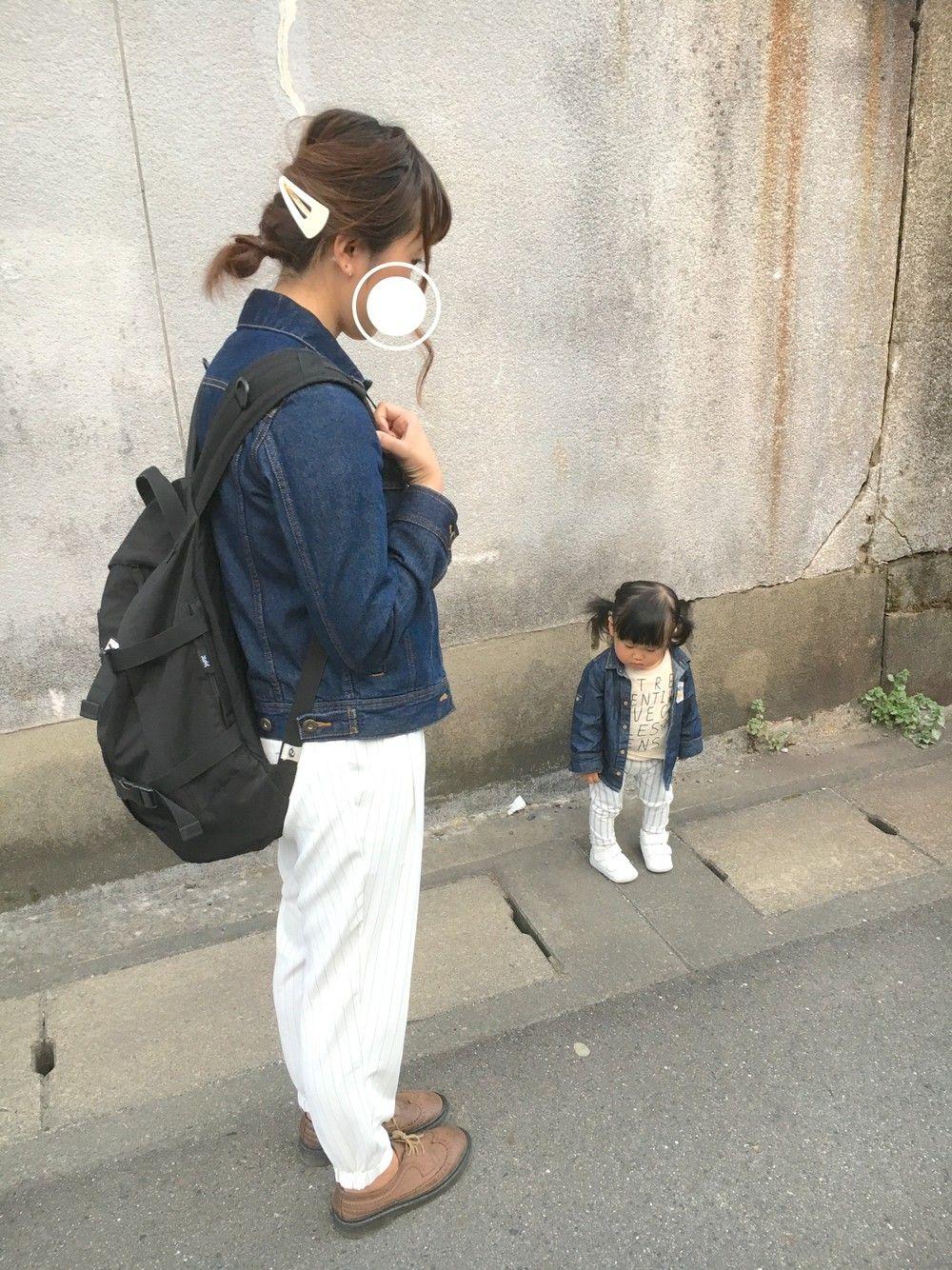 x-girl リュック コーデ