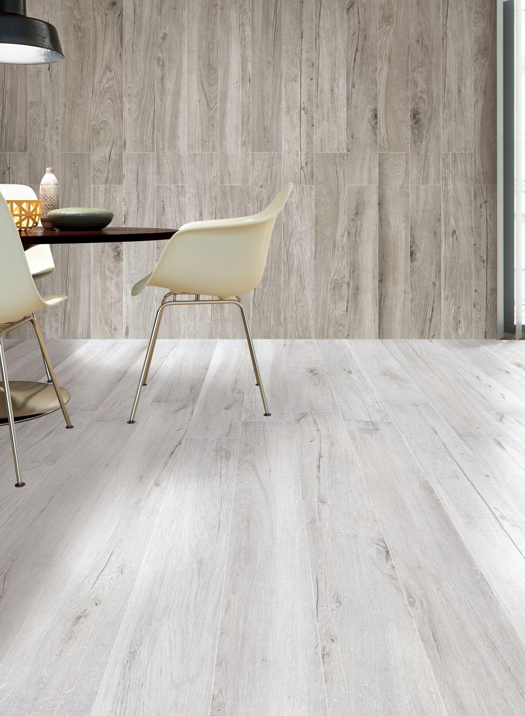 Porcelain tile wood floor
