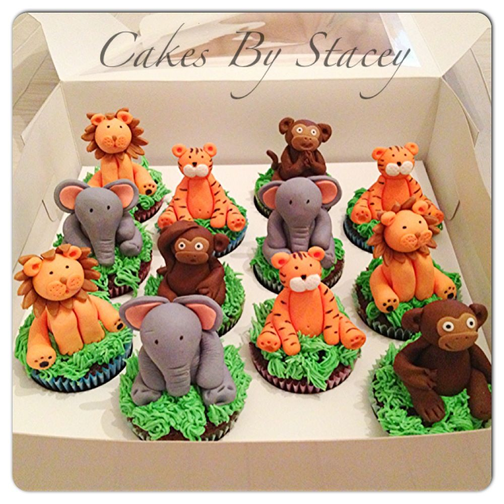 baby shower jungle theme cakes pinterest