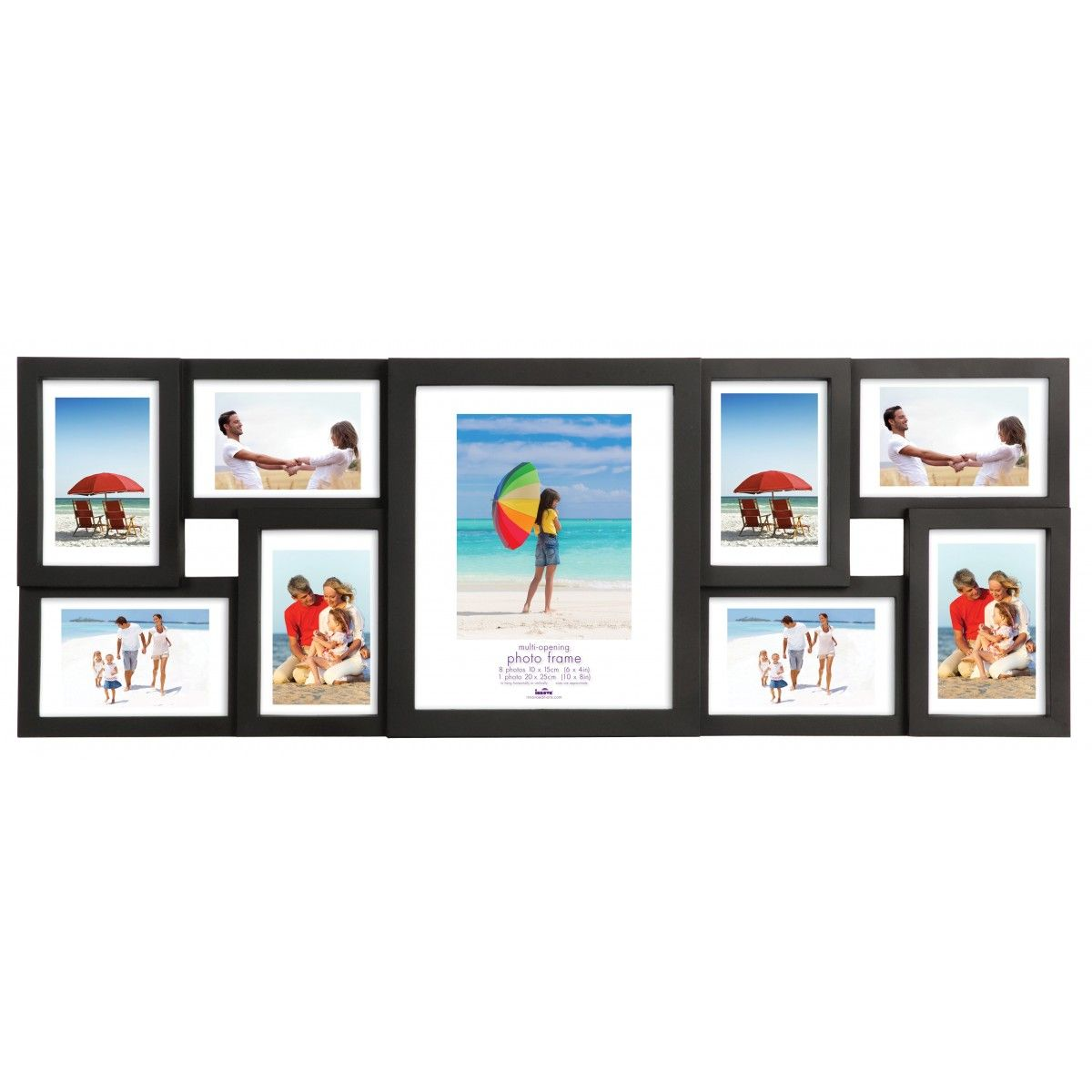 Cached Red multi aperture photo frame