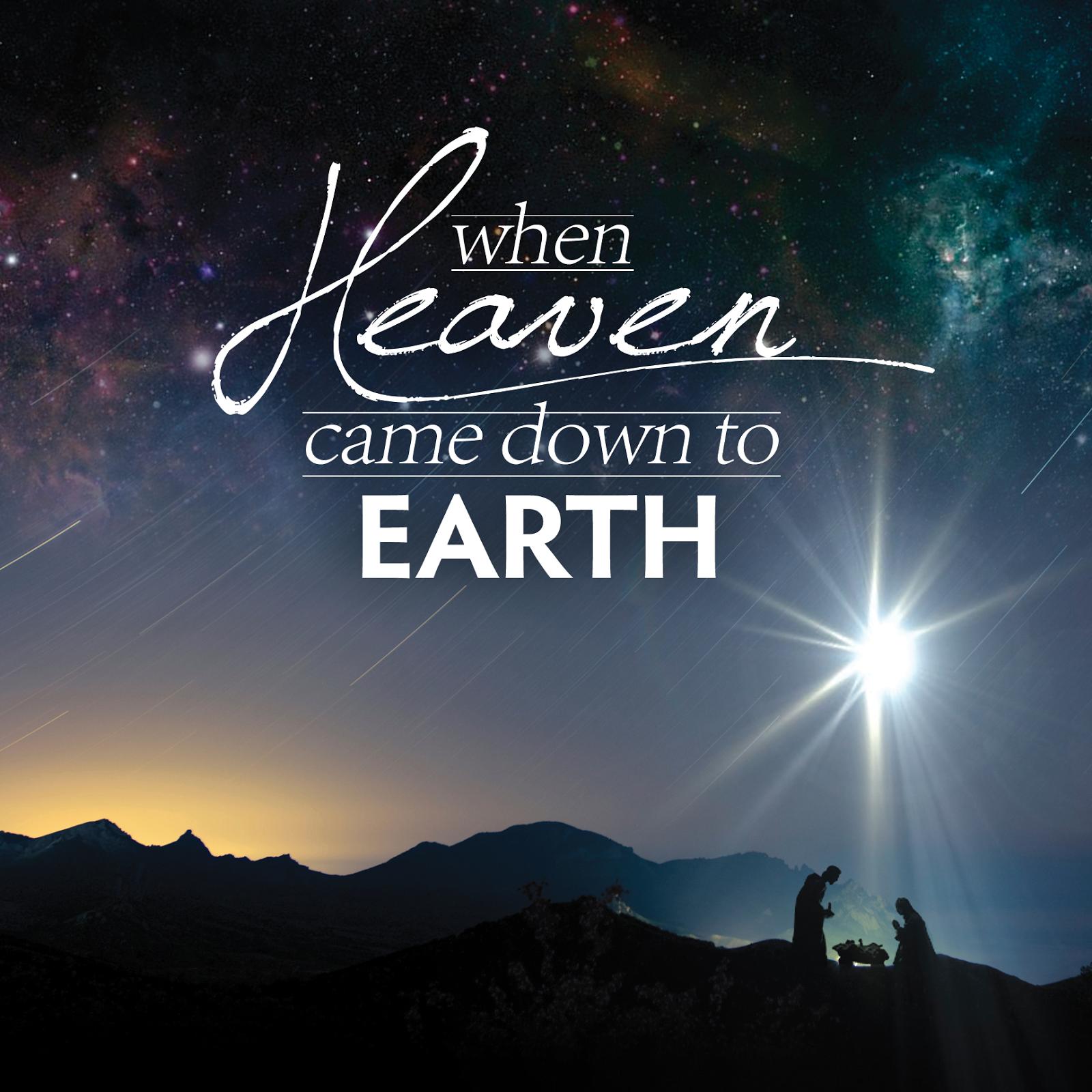 Sending Heaven to Earth | Salt and Light Blog