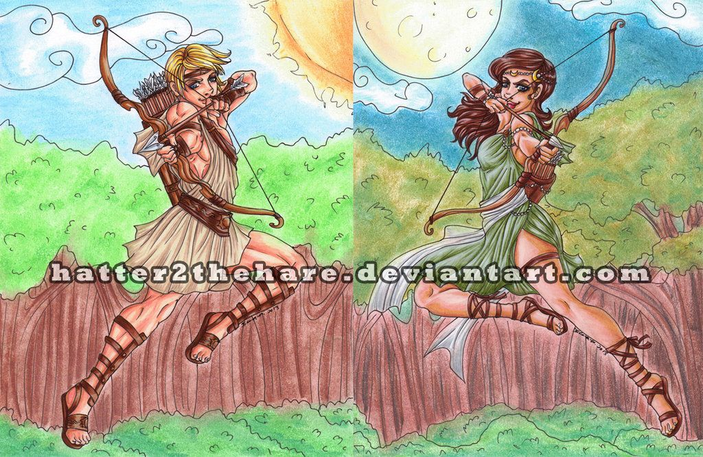 Artemis And Apollo Percy Jackson (page 2) - Pics about space