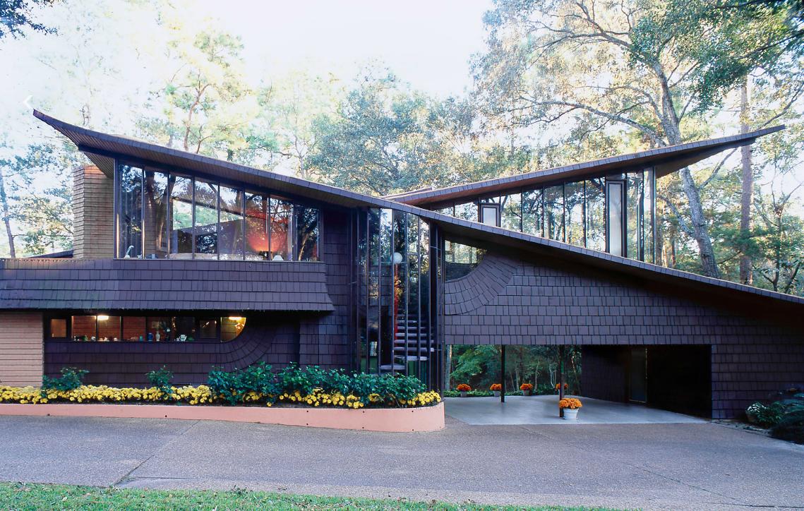 Pin by keller williams southwest on houston tx keller for Mid century modern architects houston