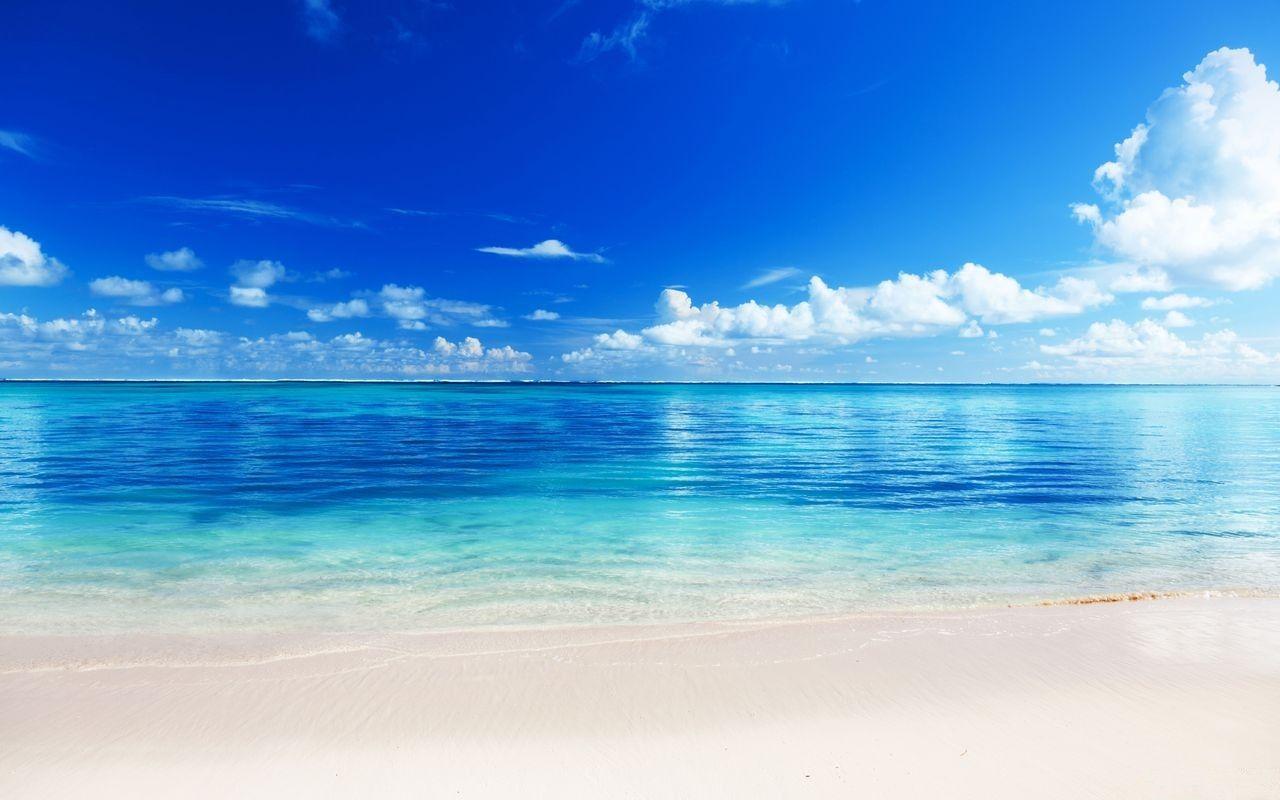 calm blue water distant horizons pinterest