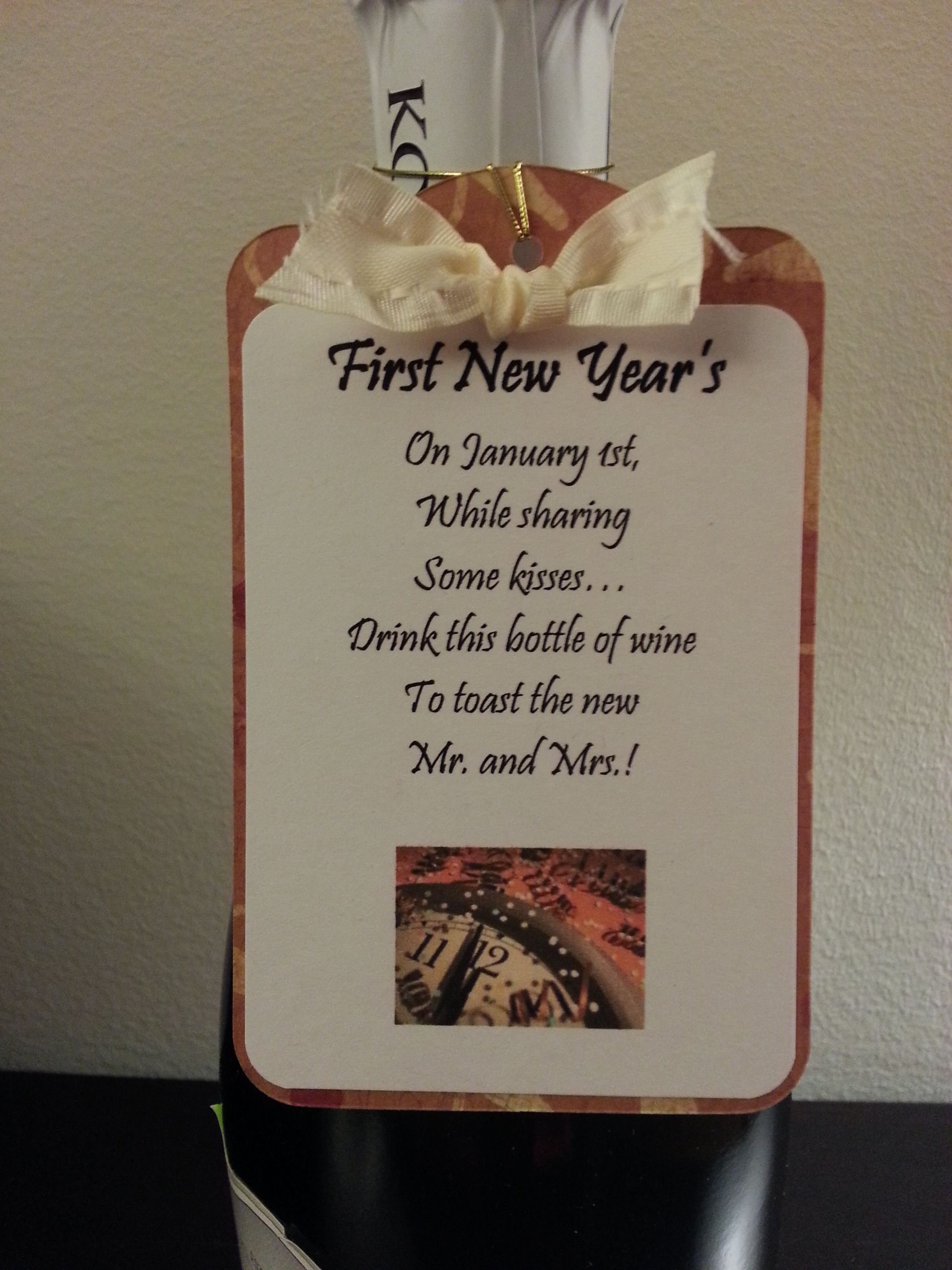 First new year 39 39 s tag gift basket ideas pinterest - Best new year gift ideas ...