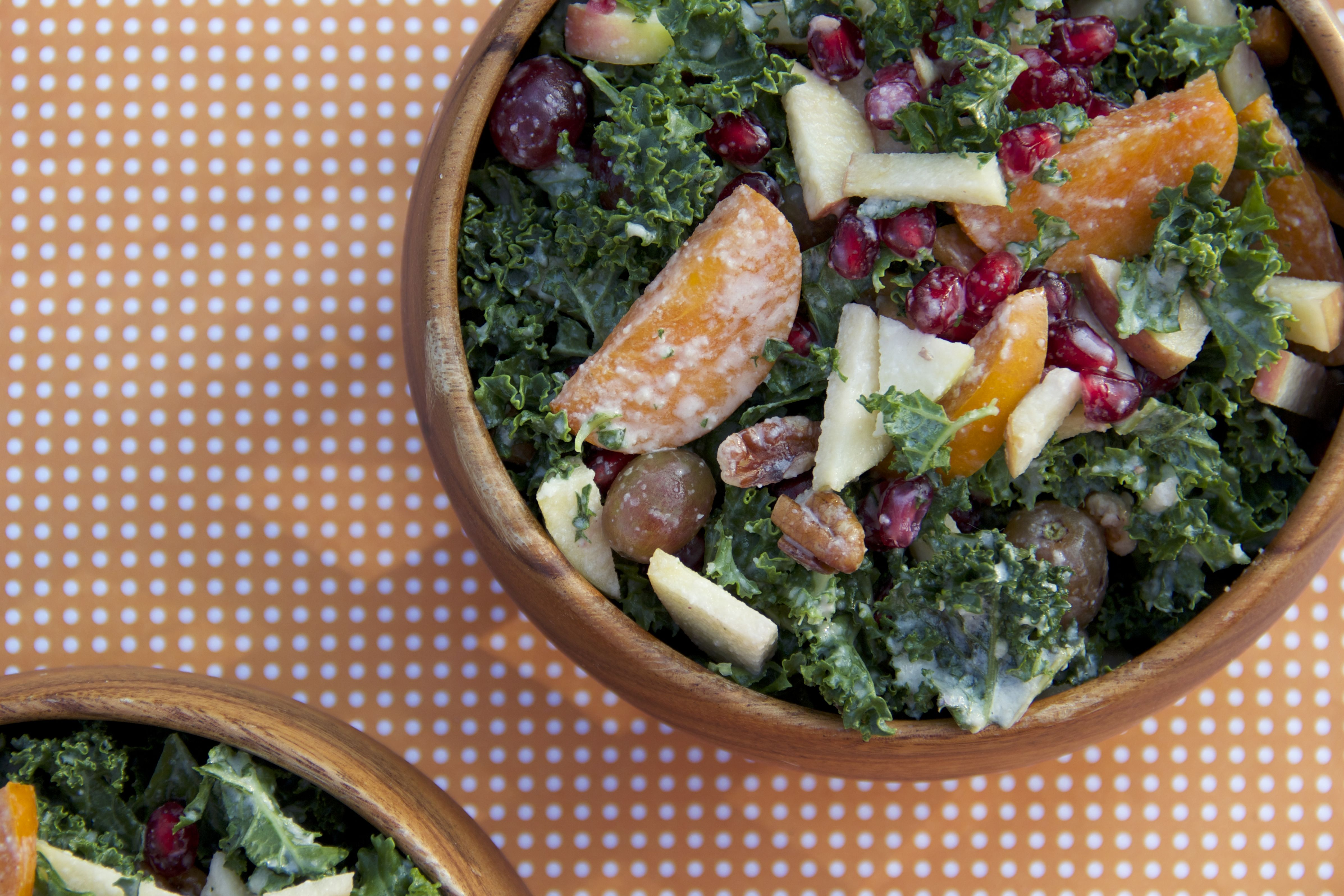 Persimmon Salad With Sesame Vinaigrette Recipes — Dishmaps