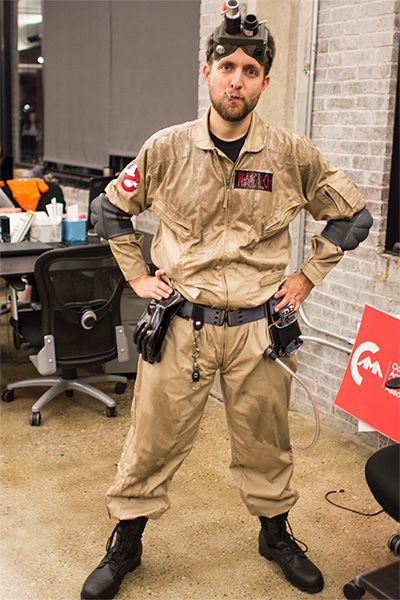 Easy, Accurate Ghostbusters Costume, 80% from Amazon | Halloween ...