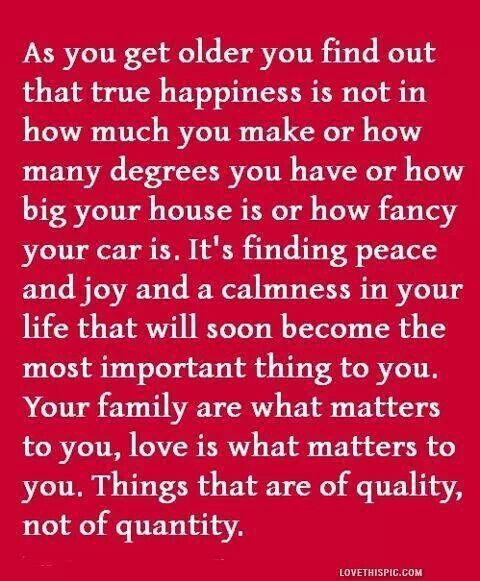 true meaning of happiness In today's materialistic world , more money means happiness, however remember materialistic things only give temporary happiness real happiness is in self satisfaction and spreading lovehow much joy did your new laptop or tv give you.
