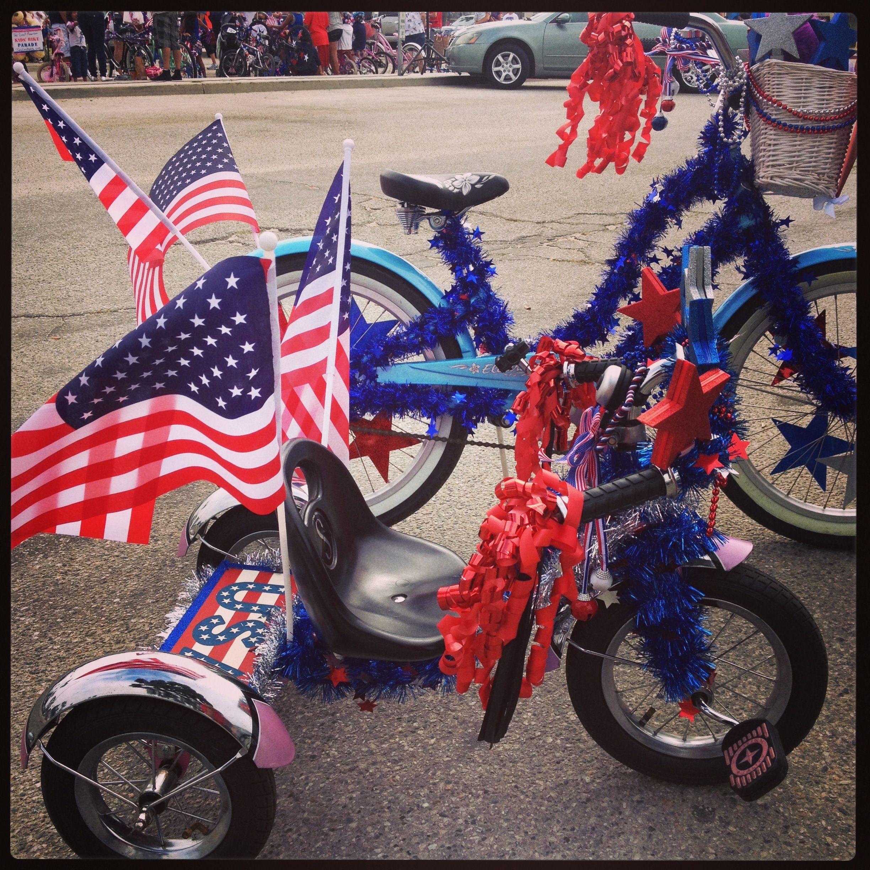 july 4th bike decorations