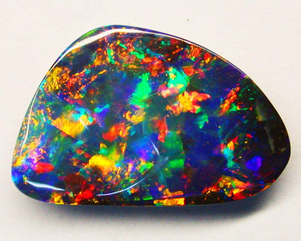 gem quality queensland boulder opal australia