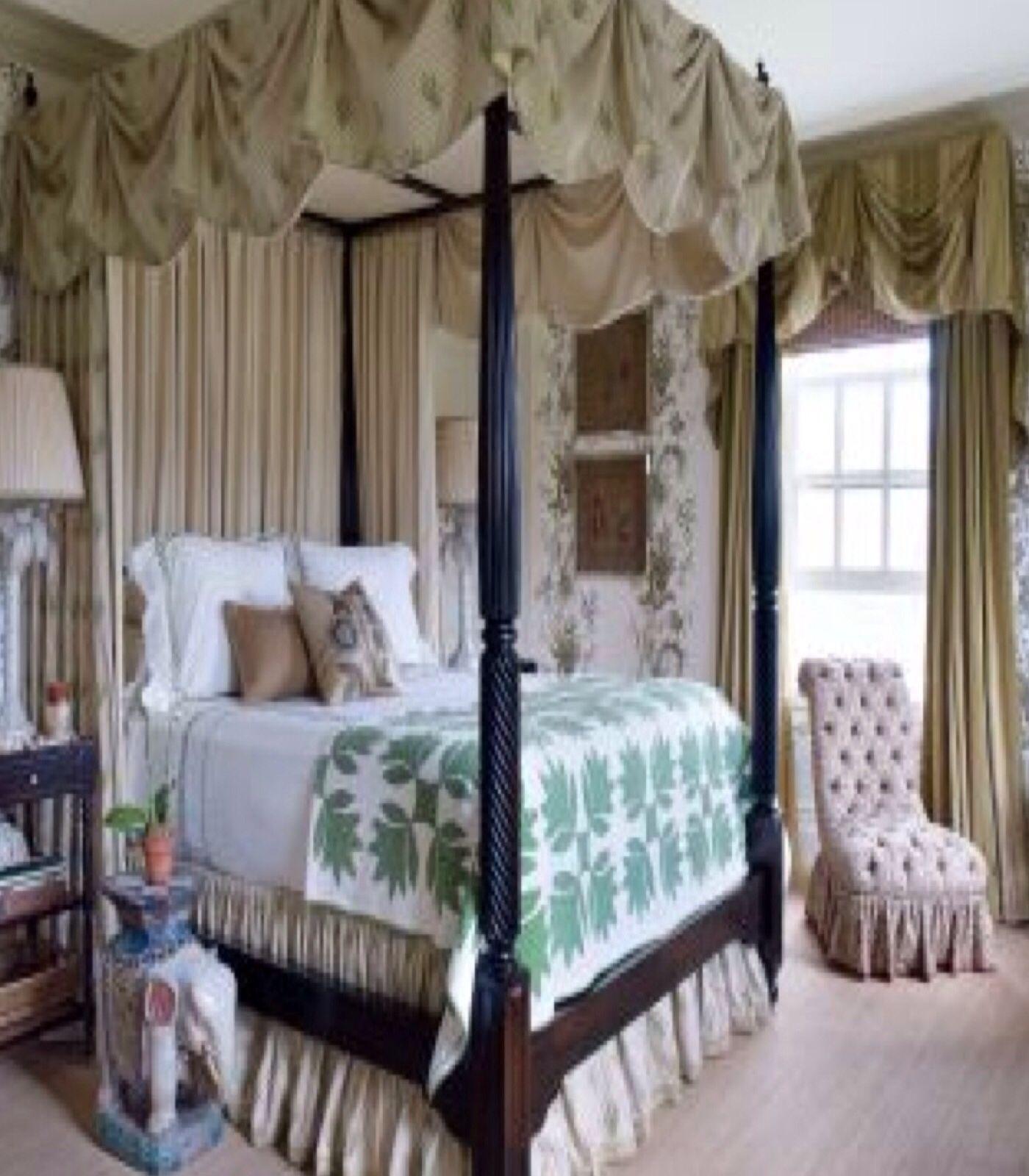 Luxury Bedrooms Canopy Bed Rooms Pinterest