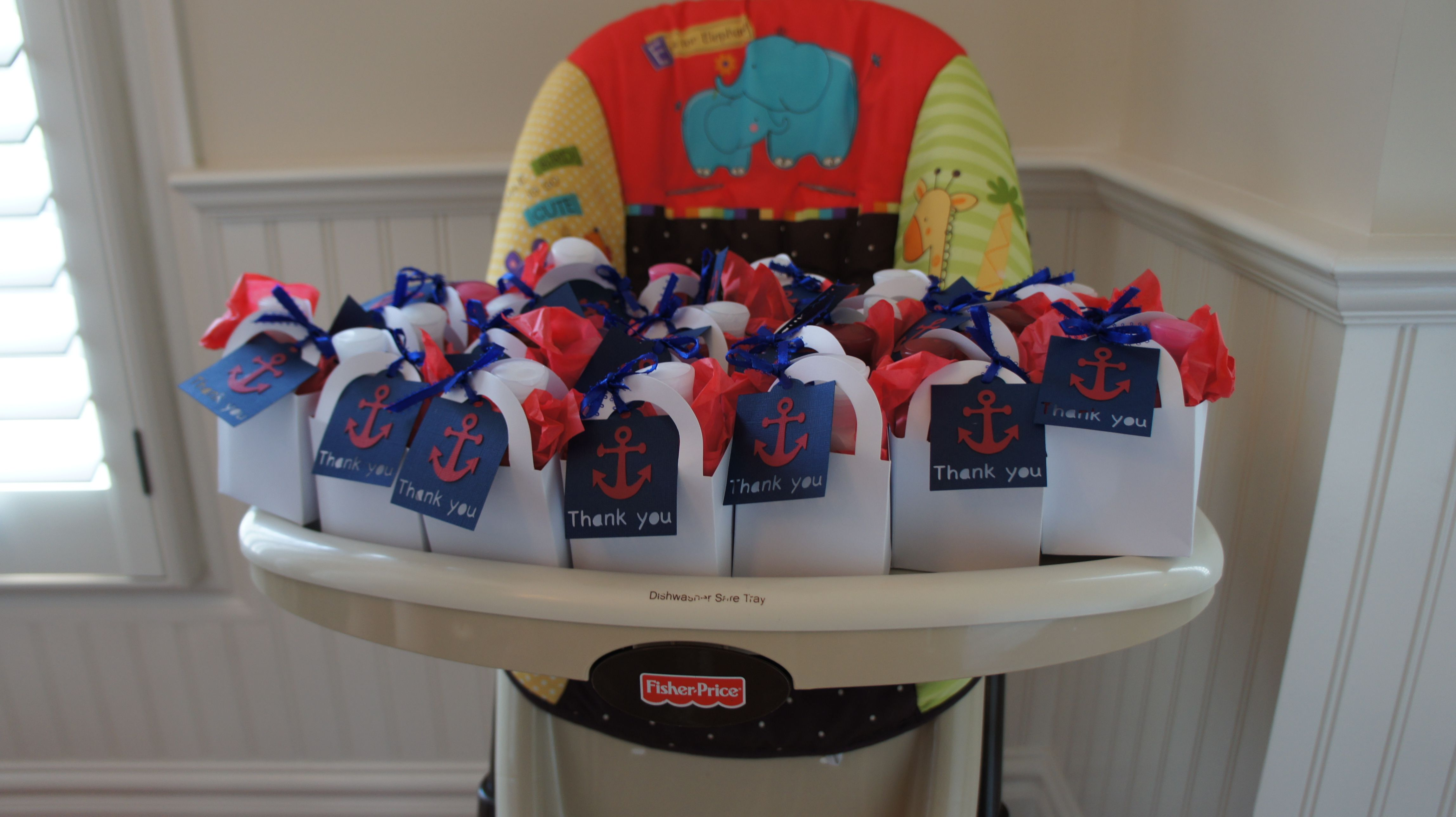 nautical baby shower favors baby shower party pinterest