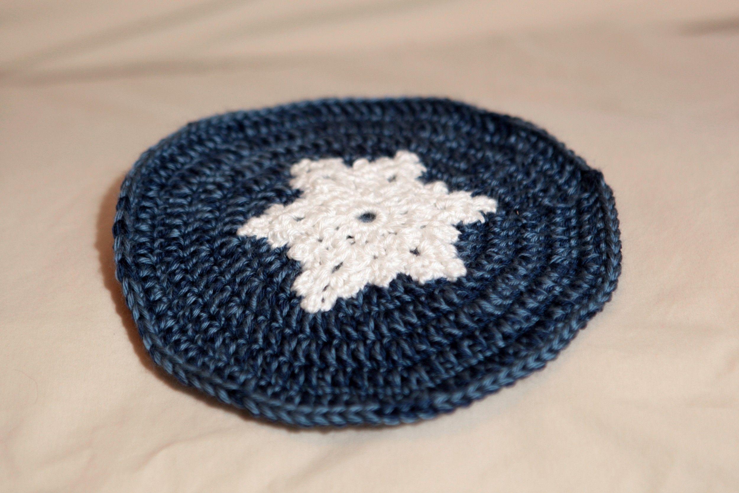 Free Crochet Snowflake Potholder Pattern : Snowflake Pot Holder - Crochet My Creations Pinterest